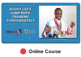 Buddy Lee's Jump  Rope Training Fundamentals Enhanced Online CE Course With eBook