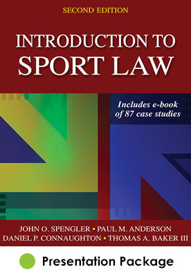 Introduction to Sport Law Presentation Package-2nd Edition