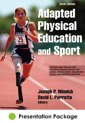 Adapted Physical Education and Sport Presentation Package-6th Edition