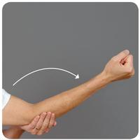 Deep Tissue massage Elbow Extention