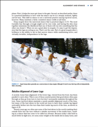Alignment and stance for ultimate skiing
