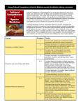 Cultural Competence curriculum guide