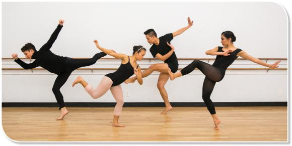 Dancers can explore balancing through the use of improvisation.