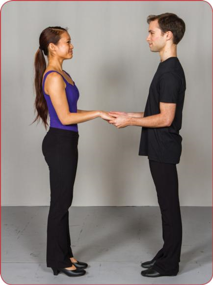 Figure 5.27 Two-hands joined position.