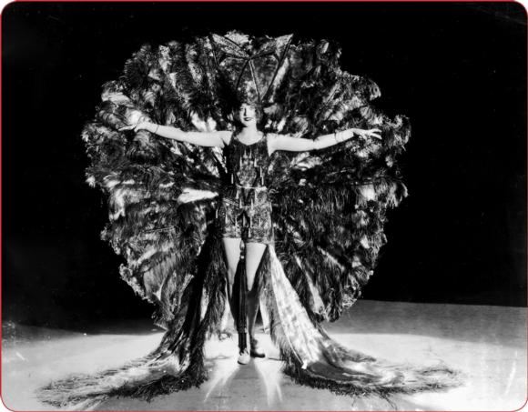 A performer from 1925.