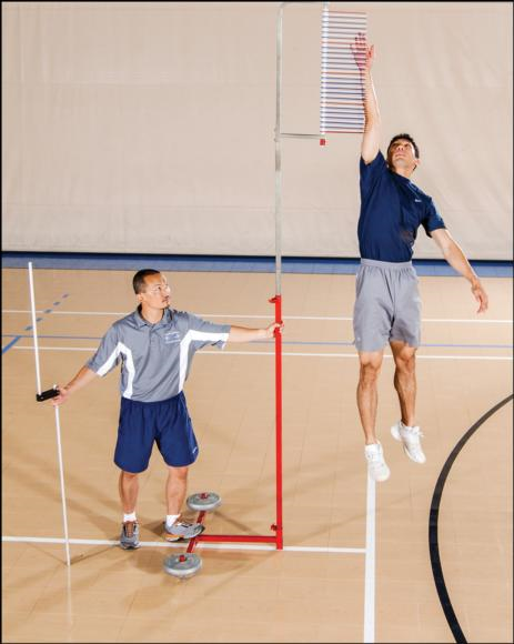 Figure 7.2 Vertical jump test.