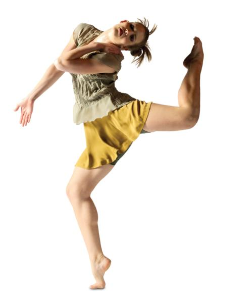 This dancer displays muscular strength as well as flexibility in this difficult balance.