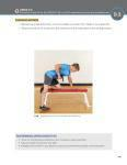 Exercise motion for one-arm dumbbell row