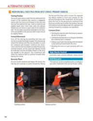 Medicine Ball Chest Pass from Split Stance