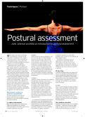 Postural assessment introduction