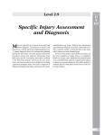 Sample page: Injury assessment