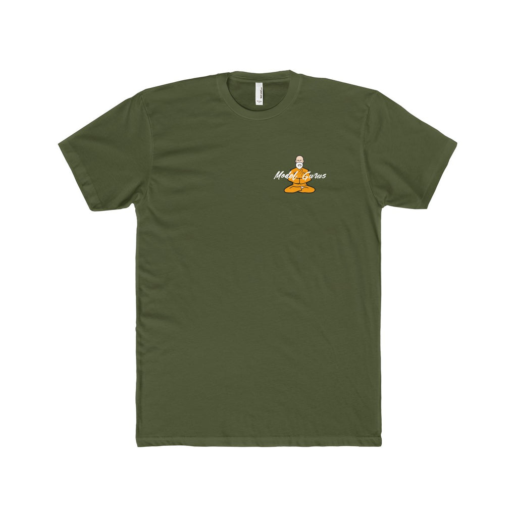 "Special Edition ""Zen Guru"" T Shirt - Military Green - Model Gurus Inc."