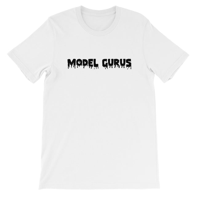 """Melting Letters""  OG Model Gurus- White, Yellow, Pink - Model Gurus Inc."