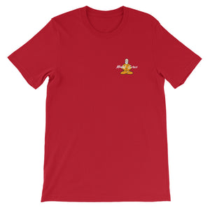 """Zen Guru"" t-shirt - Black, Pink, Gold, Red, Teal, Blue - Model Gurus Inc."