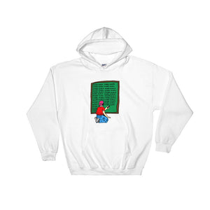 """Bad Kid"" Hoodie - White, Black, Blue, Red - Model Gurus Inc."