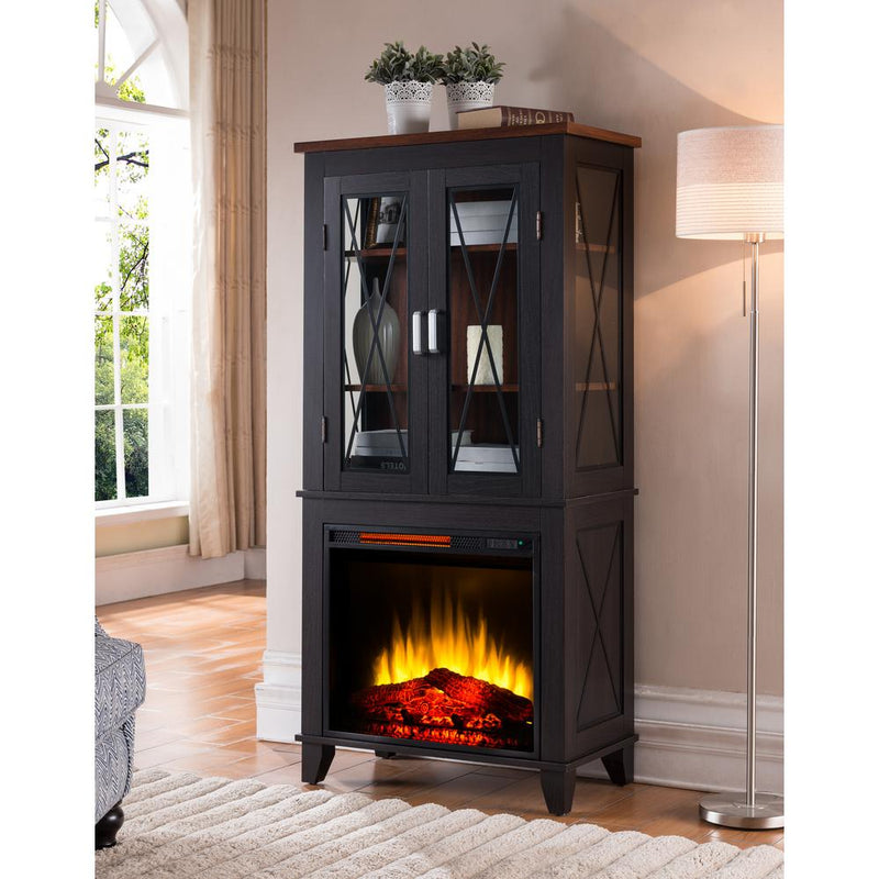 pleasant hearth ca sheridan home fireplaces amazon glf mobile kitchen electric fireplace dp