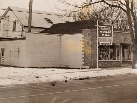 1956 Outside of Frankenmuth Woolen Mill