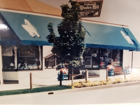 1989 Outside of Frankenmuth Woolen Mill