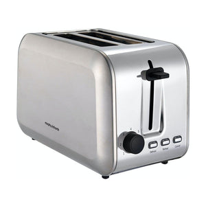 MORPHY RICHARDS Stainless Steel  2 Slice Toaster 980552