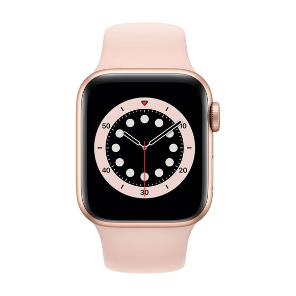 APPLE  Watch Series 6 40mm Gold Aluminium Case with Pink Sand Sport Band MG123B/A