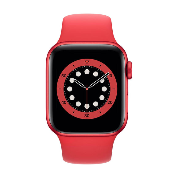 APPLE  Watch Series 6 44mm Red Aluminium Case with Red Sport Band M00M3B/A