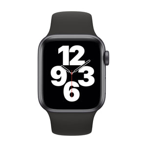 APPLE Watch SE 44mm Space Grey Aluminium Case with Black Sport Band MYDT2B/A