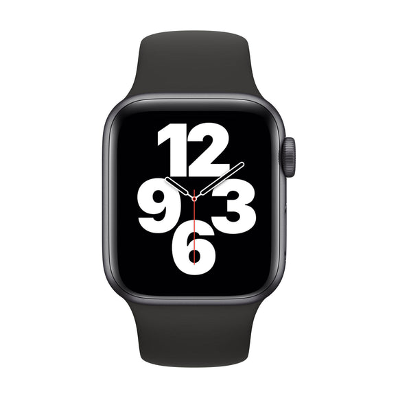 APPLE Watch SE 40mm Space Grey Aluminium Case with Black Sport Band MYDP2B/A