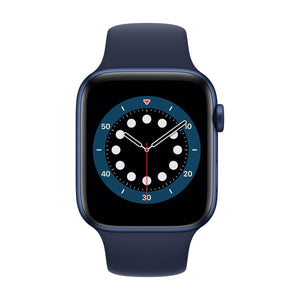 APPLE Watch Series 6 44mm Blue Aluminium Case with Navy Sport Band M00J3B/A