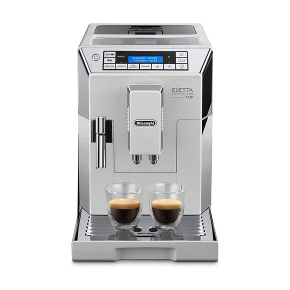 DE'LONGHI  Eletta Cappuccino Top Bean-to-Cup Automatic Coffee Machine with Grinder & Frother ECAM45.760
