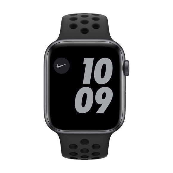 APPLE  Watch Series 6 40mm Space Grey Aluminium Case with Nike Anthracite Black Band M00X3B/A