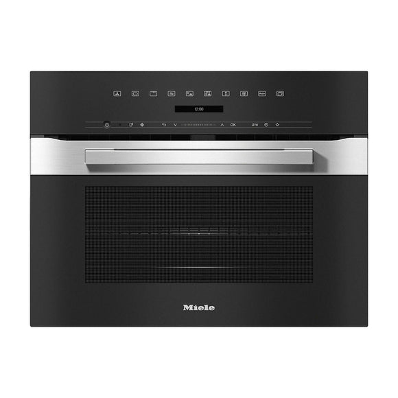 MIELE H7240BM 43L Built-In Combination Microwave Oven