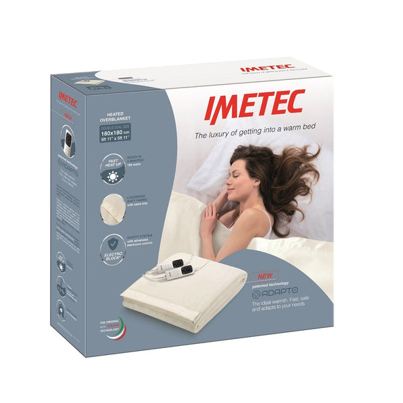 Imetec Blanket Adapto Double Dual 16754