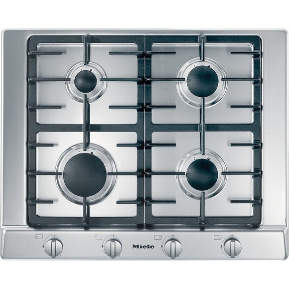 Miele KM2010 Gas Hob with Stainless Steel Frame