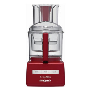 MAGAMIX 5200XL Food Processor Red-18585