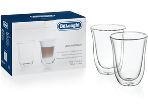 Delonghi Latte Macchiato Thermo Glasses- 5513214611