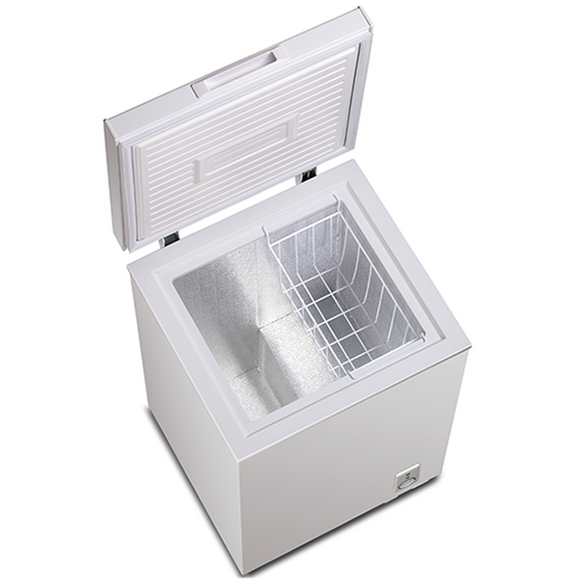 POWERPOINT Chest Freezer,100 litres,, F Energy Rated - P111MLW