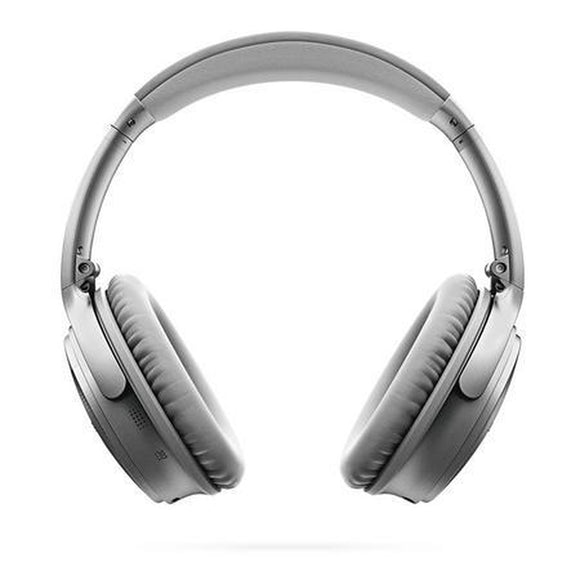 BOSE Quiet Comfort 35 Wireless Headphones Silver Tone