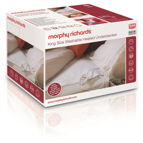 Morphy Richards King Washable Heated Underblanket 600115