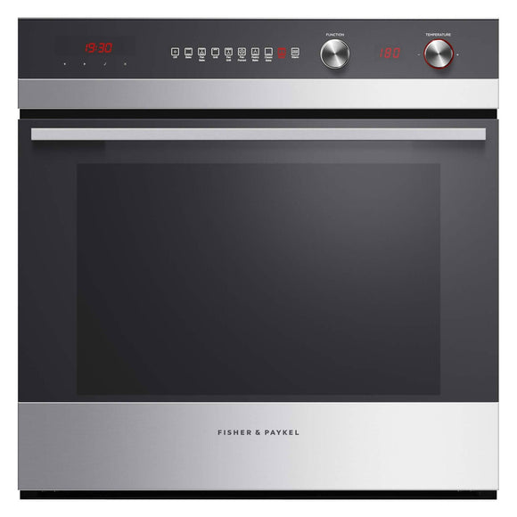 FISHER & PAYKEL 60cm 9 Function Built-in Oven - 72L - OB60SC9DEX1