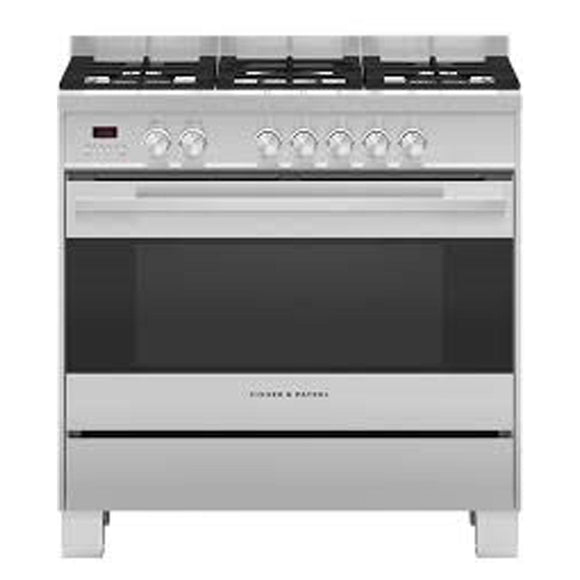 FISHER & PAYKEL 90cm Dual Fuel Range Cooker - OR90SDG4X1
