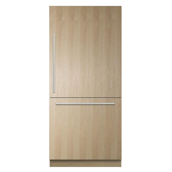 FISHER & PAYKEL RS9120WRJ1 ActiveSmart™ Fridge 906mm Bottom Freezer Built-in with Ice– Panel Ready