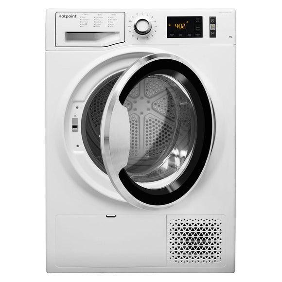 HOTPOINT Active Care, 8Kg Heat Pump Tumble Dryer - NTM1182XBUK