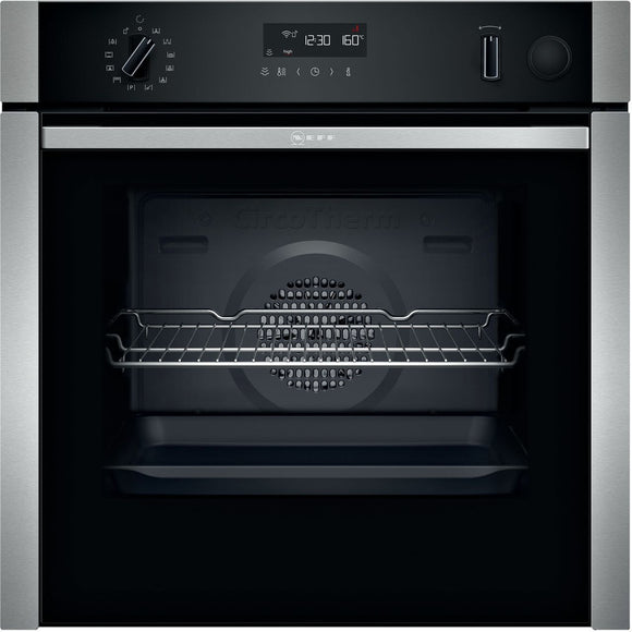 Neff N 50  60cm Built-in Oven with added Steam Function  B5AVM7HH0B