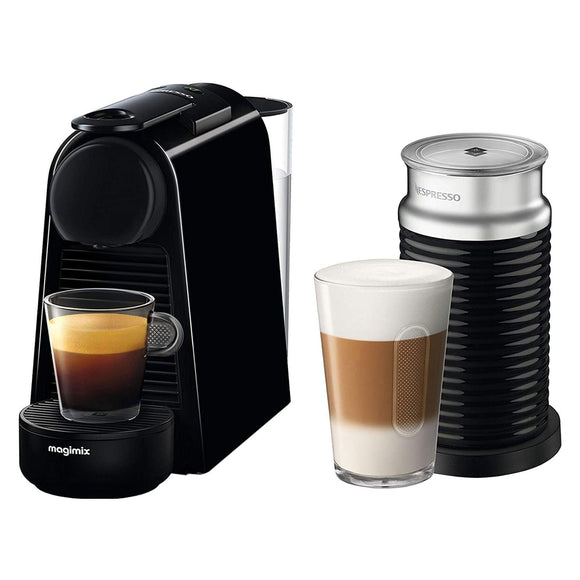 MAGIMIX Mini Essenza with Aeroccino Nespresso Coffee Machine