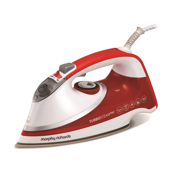 MORPHY RICHARDS Turbosteam Pro Pearl Ceramic Steam Iron 303124