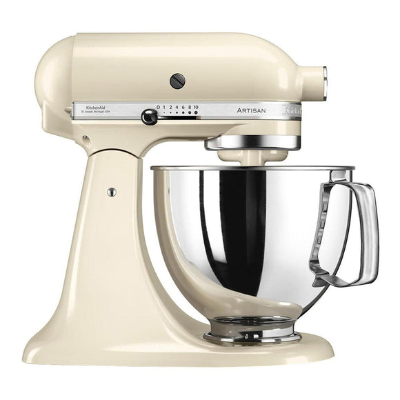 KITCHENAID  Artisan  Almond Cream 4.8 L Stand Mixer 5KSM175PSBAC