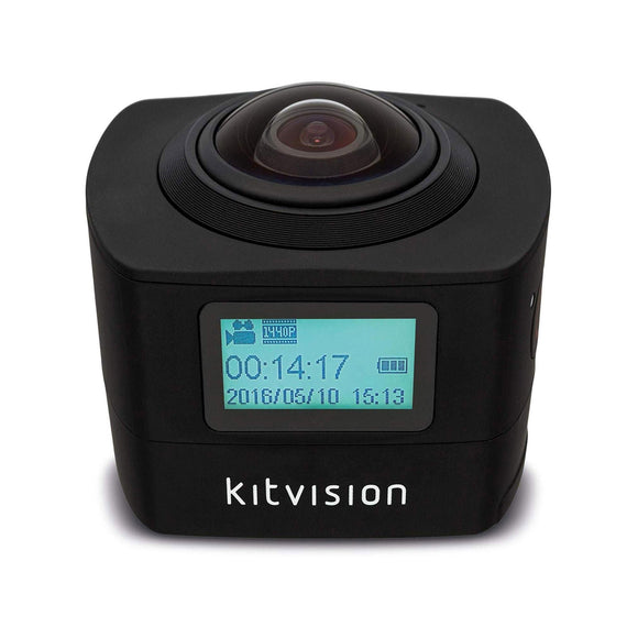 KITVISION  360 Immerse Action Camera With Built-In Wi-Fi KVIM220