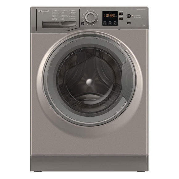 HOTPOINT 8KG 1400 spin Washing Machine NSWM843CGG