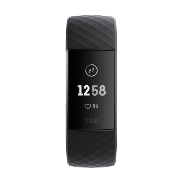 FITBIT  Charge 3 Graphite and Black