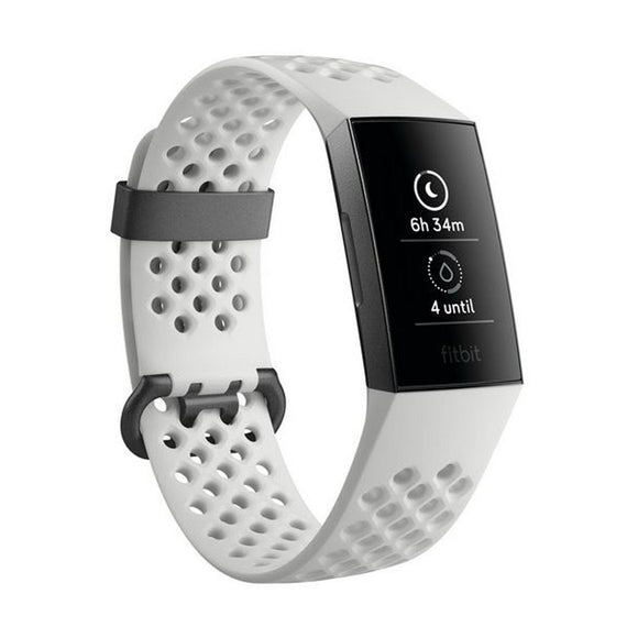 FITBIT Charge 3  Graphite and White